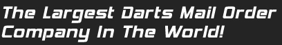Tommy's Darts International, the largest Darts mail order company in the world
